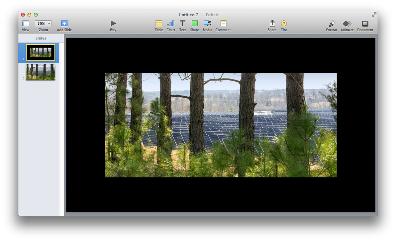 AppleScript and Keynote: Image Slides from Files
