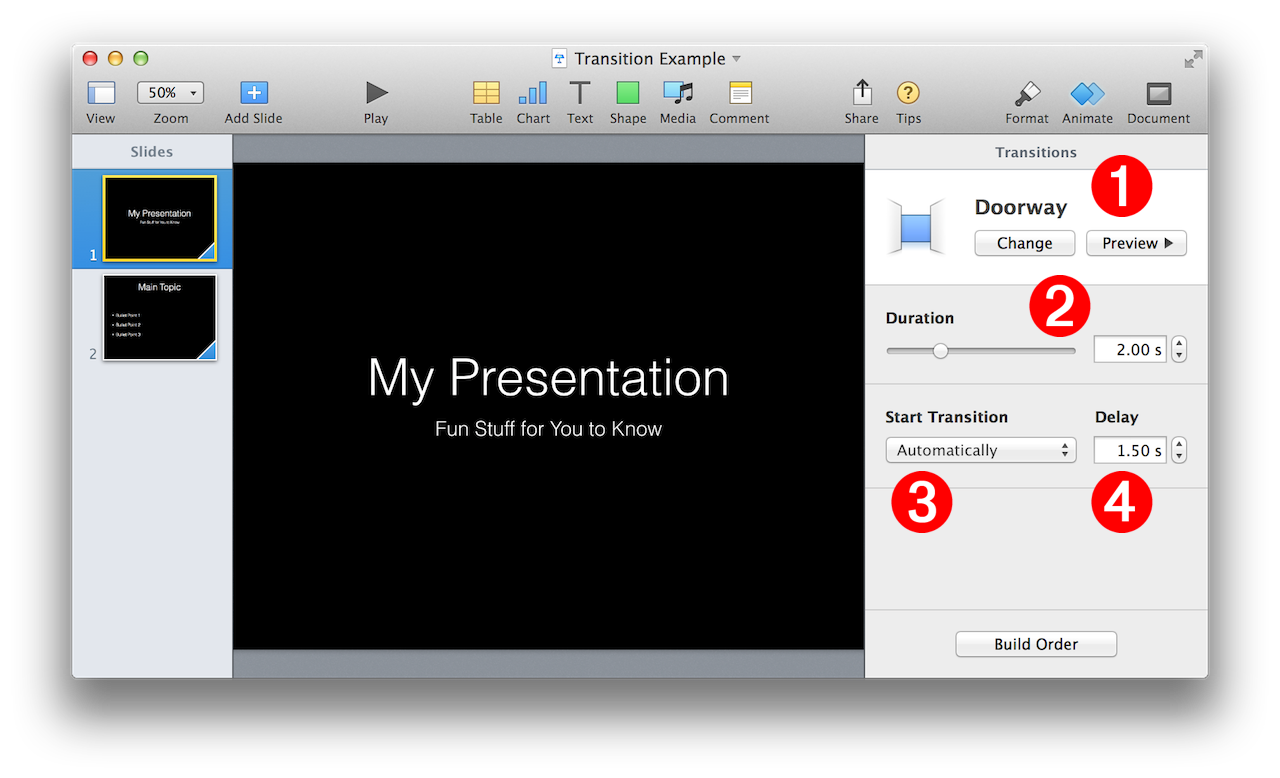 Applescript and keynote slide transitions keynote scripting ccuart Image collections